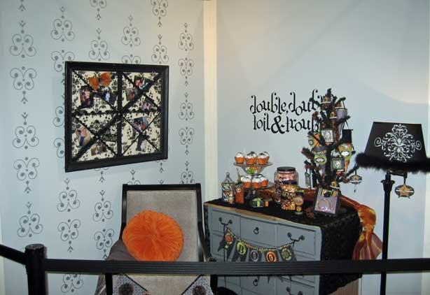 Halloween-room